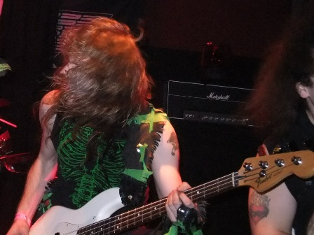Johnny Exciter with Skull Fist live in Germany