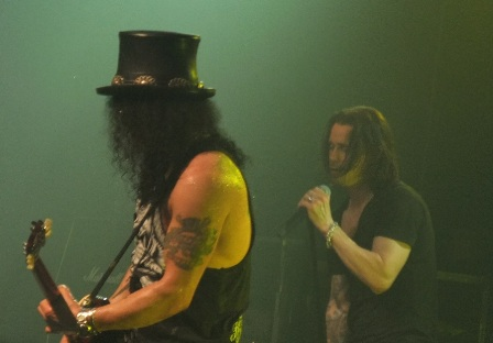 Slash and Myles Kennedy live
