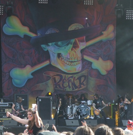 Slash live at the Hellfest