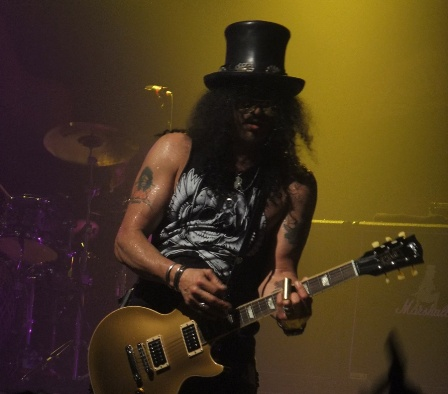 Slash live in concert