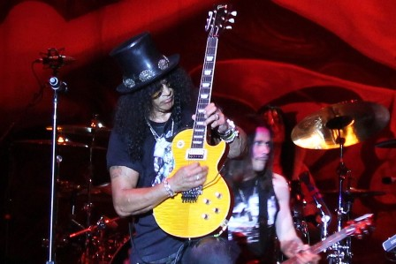 Slash at Sonisphere Spain