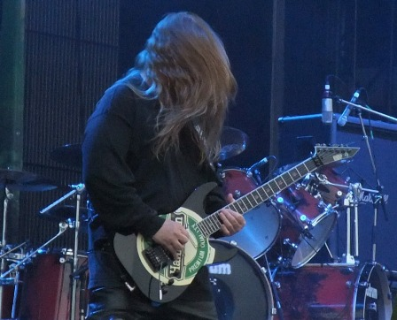 Jeff Hanneman and his Heineken Guitar at the Tuborg Green Festival
