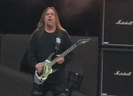 Jeff Hanneman at the Sonisphere Festival