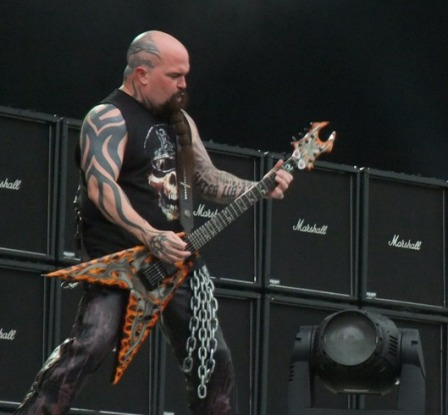 Kerry King at the Big Four in Sweden