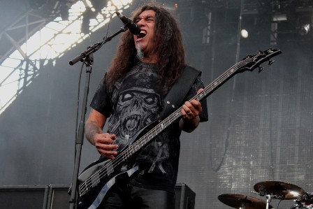Tom Araya from Slayer at the Sonisphere Festival France