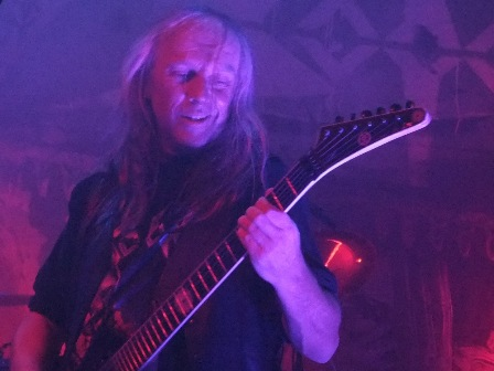 Bernemann live with Sodom in Eindhoven
