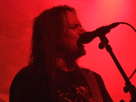 Tom Angelripper singing - Sodom live in Eindhoven Germany