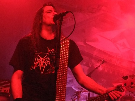 Tom Agelripper from Sodom live at the Dynamo in Eindhoven