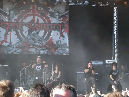 Sonic Syndicate Live in Sweden