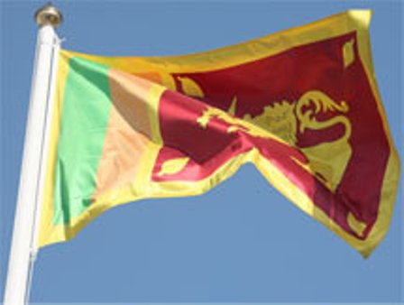 The Sri Lanka Flag