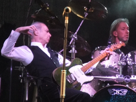 Francis The Wizard Rossi and Matt Lettley on drums