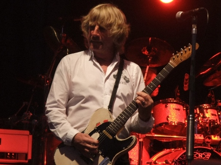 Rick Parfitt in Germany with Status Quo