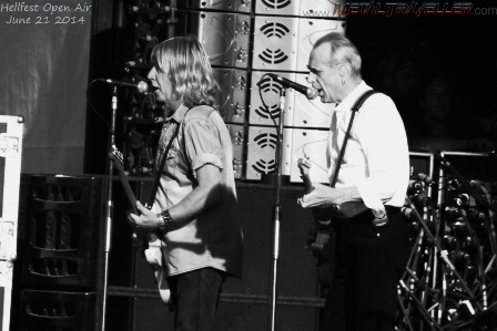 Francis Rossi and Rick Parfitt from Status Quo live in Clisson