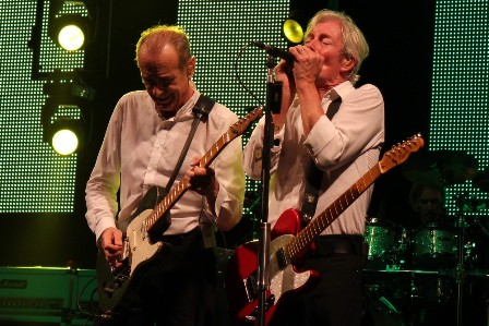 Francis Rossi on guitars and Andy Bown on guitars and Harmonica, live with Status Quo