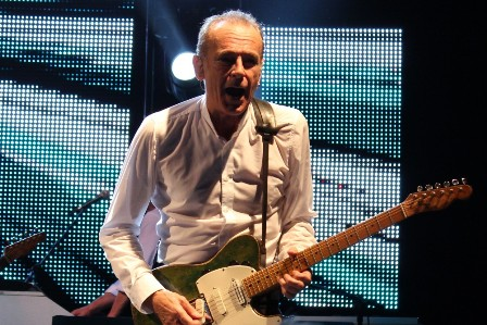 Francis Rossi from Status Quo at the Olympia Hall in Paris France