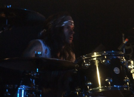 Stix Zadinia from Steel Panther live in Cologne