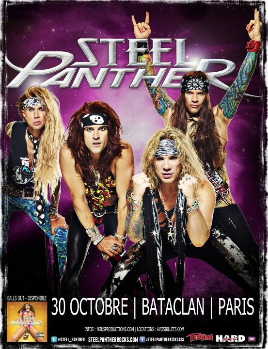 Steel Panther in Paris