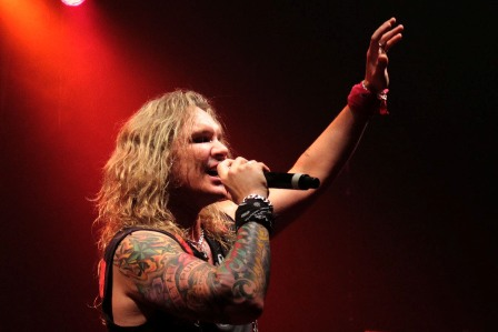 Steel Panther live in Paris