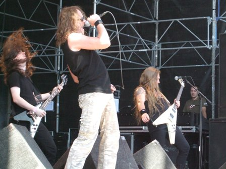 Stormwarrior live at Sweden Rock Festival, Sweden, June 2008