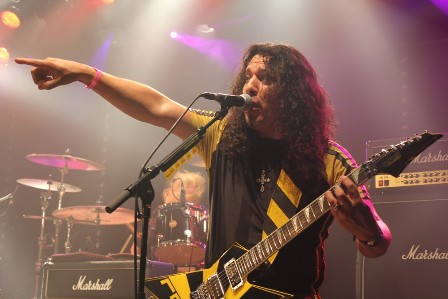 Oz Fox from Stryper live in France