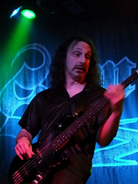 Michael Lepond on bass with Symphony X