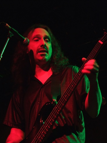 Michael Lepond on bass - Symphony X live in Paris France
