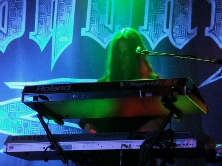 Michael Pinnella on keyboards -  Symphony X live in concert