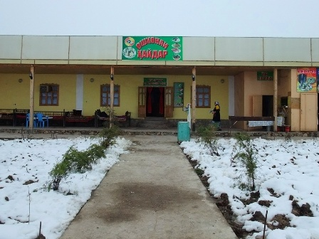 Restaurant in Dangara, Tajikistan