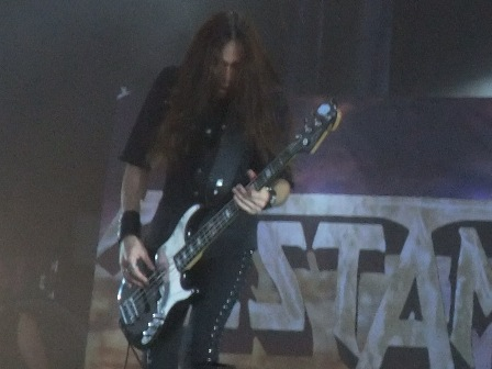 Greg Christian with Testament in Wacken