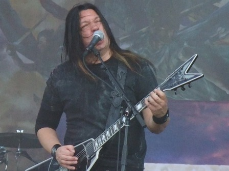 Eric Peterson with Testament in Wacken