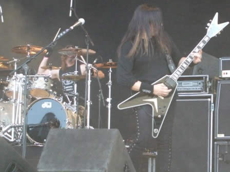 Testament Live in Sweden Rock 2008