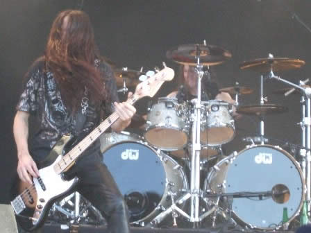Greg Christian and Paul Bostaph from Testament Sweden Rock 2008