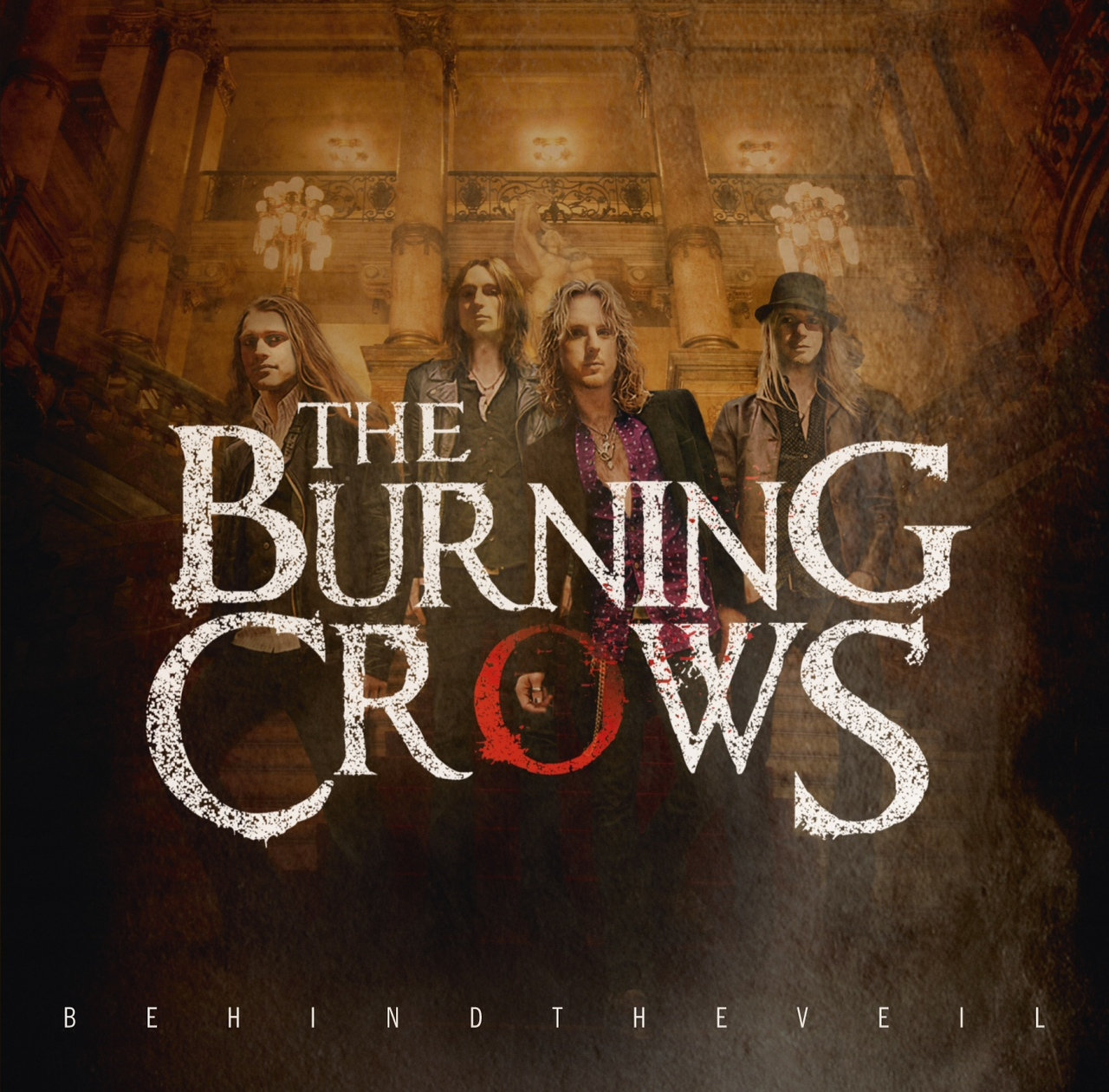 The Burning Crows Behind The Veil album cover