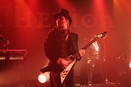 Christofer Johnsson Therion live in Paris