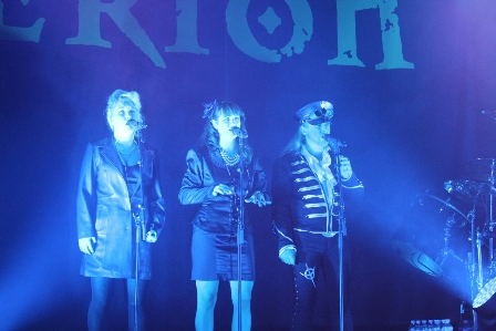 Linnea, Lori and Thomas, the singers of Therion