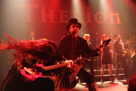 Therion live in Paris, at The Bataclan