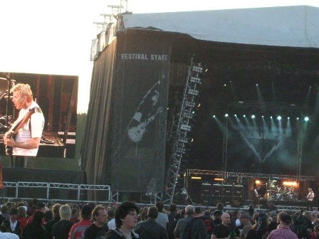 Triumph live at Sweden Rock Festival, Sweden, June 2008
