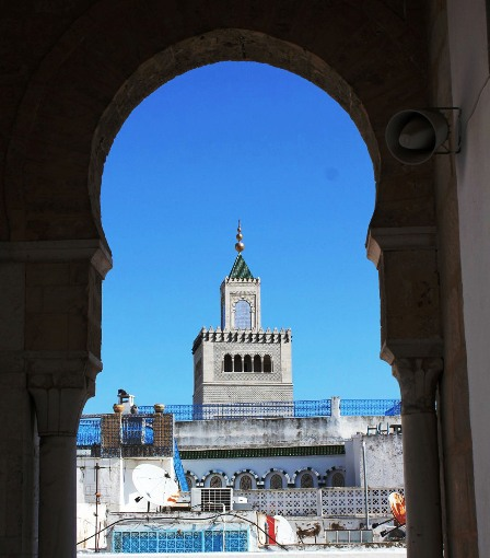 Mezquita Zitouna Túnez