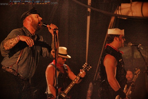 Hellfest: Turbonegro live in Clisson