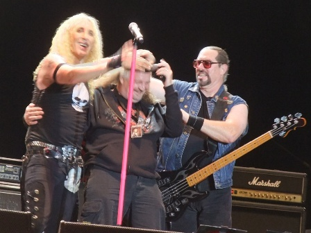 Twisted Sister and the Bang Your Head organizer