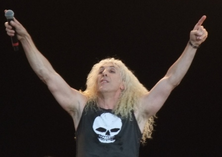Dee Snider from Twisted Sister live at the Hellfest