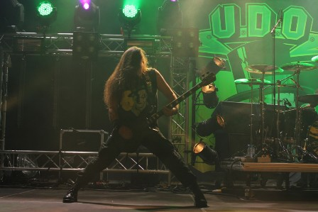 Fitty Wienhold with U.D.O. - Alcatraz Metal Festival in Belgium
