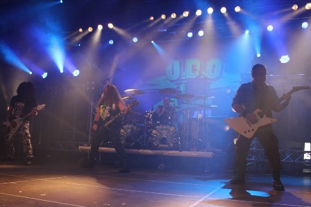 U.D.O. live at the Alcatraz Metal Festival in Belgium