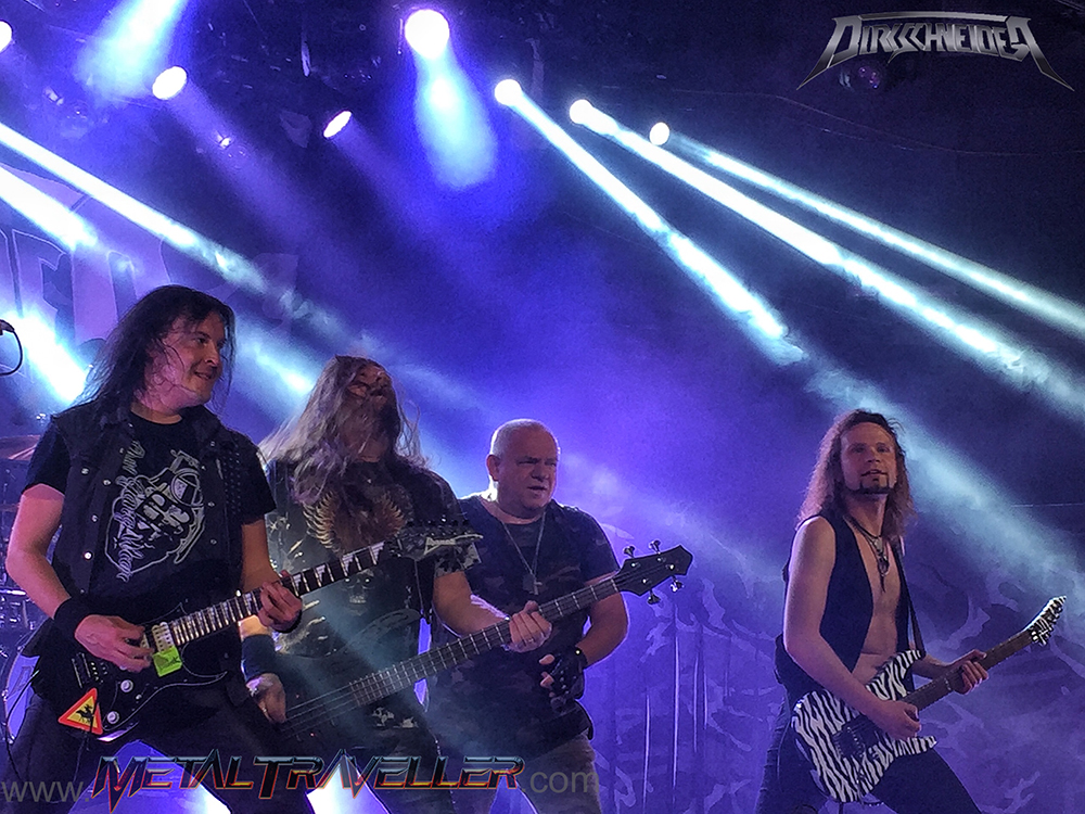 Steffen Kummerer and Bobby Koelble live with Dirkschneider DTA in Madrid