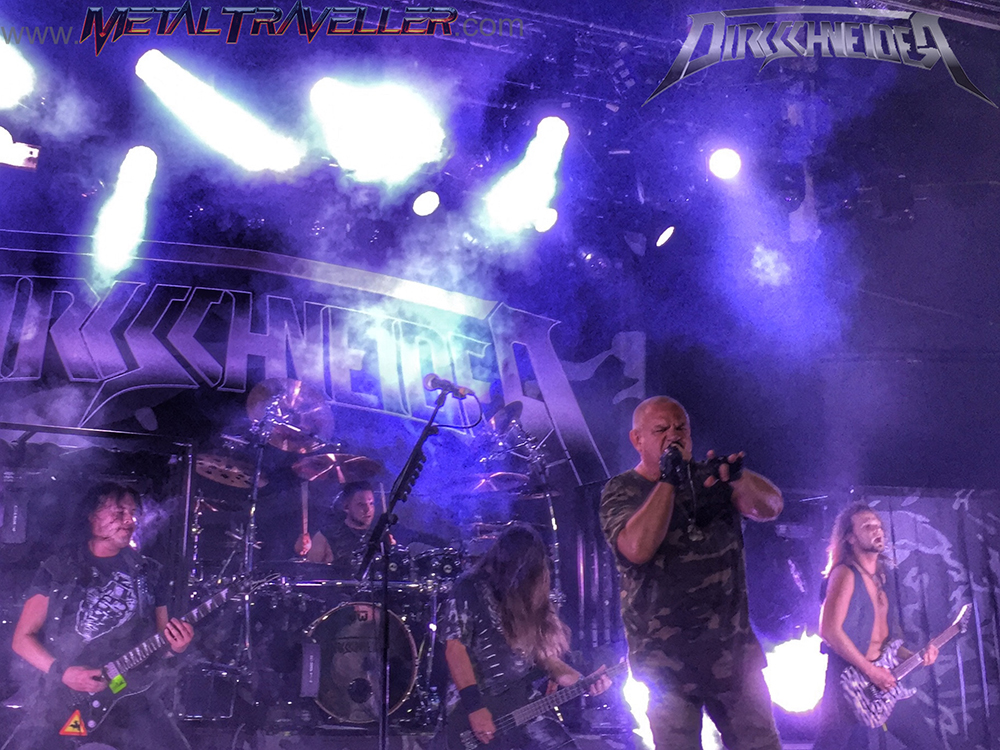 Dirkschneider, live in Spain