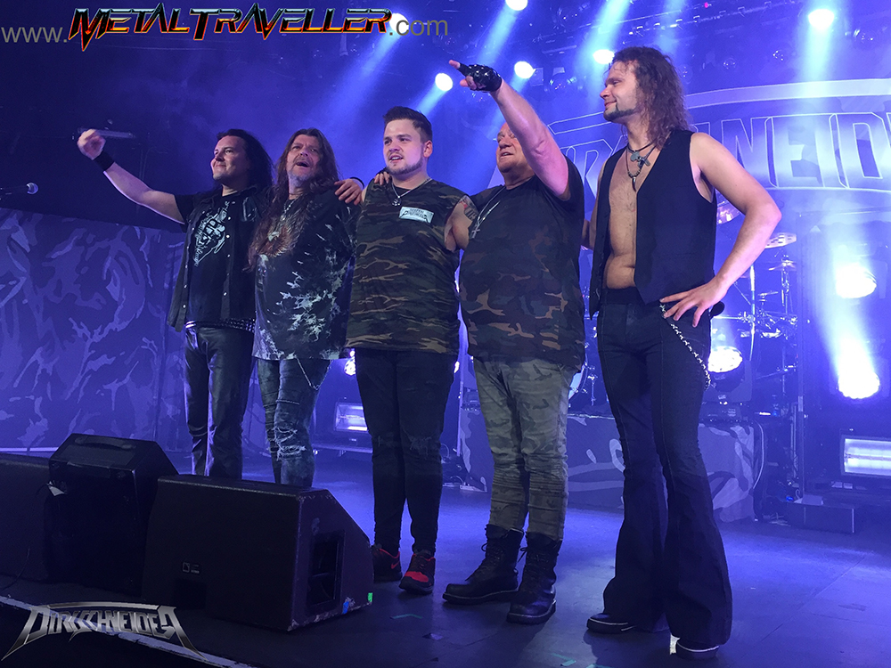 Max Phelps live with Dirkschneider DTA Tours at La Riviera in Madrid