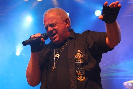 Udo Dirkschneider at the Alcatraz Metal Festival Belgium