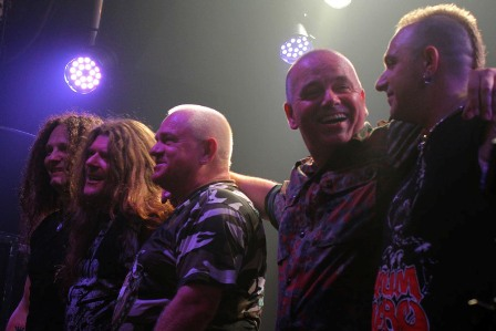 U.D.O. thanks the fans in Paris