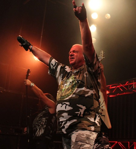 Udo Dirkschneider: U.D.O. love at the Divan du monde in Paris