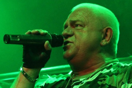 Udo Dirkschneider at the Divan Du Monde in Paris, France
